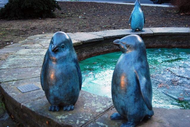 Pinguinbrunnen 2